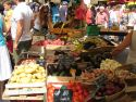 Sunday market at Issigeac, France